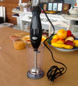 My immersion blender was a great $30 investment.