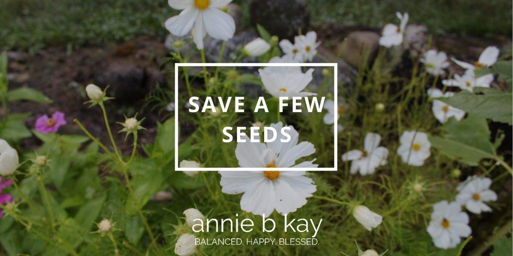 Save a Few Seeds