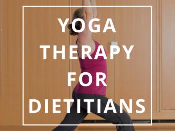 Yoga Therapy in Dietetics by Annie B Kay - anniebkay.com