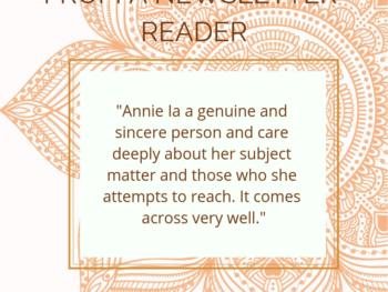 Praise for Annie B Kay